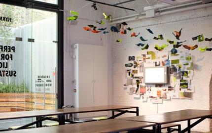 NIKE 1948 Flyknit Workshops Store Re-fit