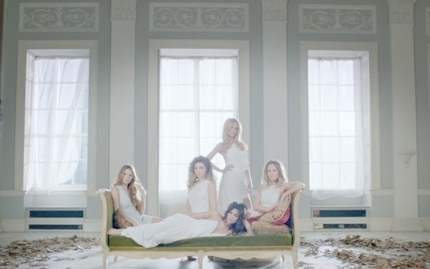 Girls Aloud Beautiful Cos You Love Me Music video